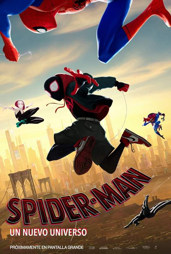 Spider Man: un nuevo universo, la creación infinita de Stan Lee