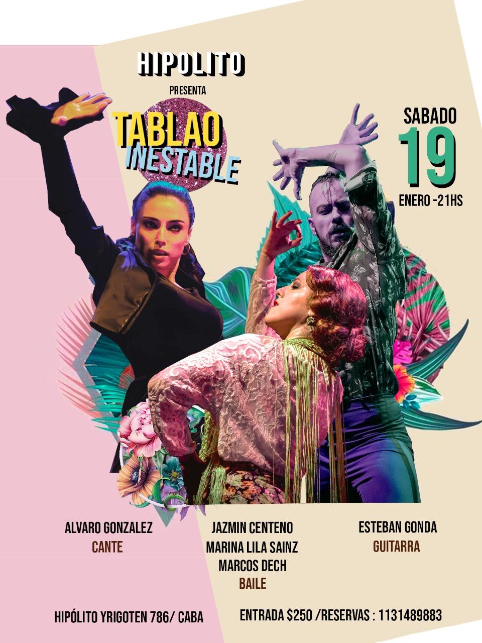 Jazmín Centeno la bailaora de flamenco argentina presenta su nuevo show en Buenos Aires
