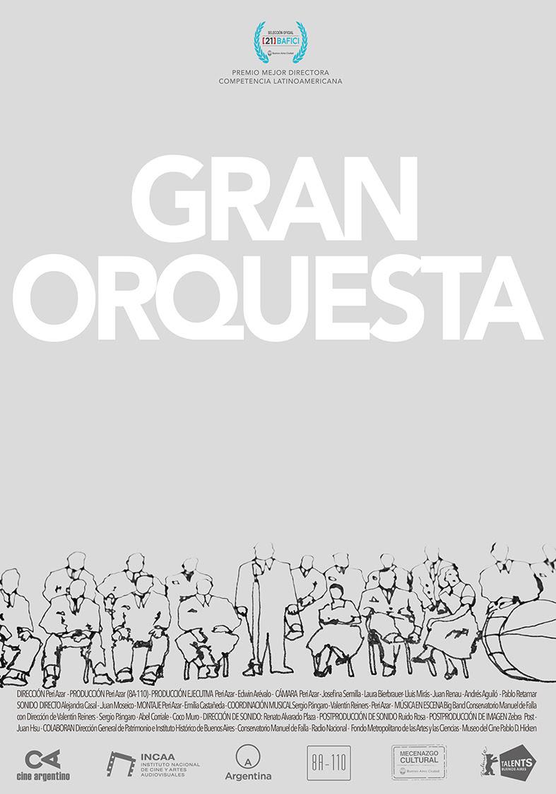 """""""Gran orquesta"""" es una historia de partituras recuperadas. Crítica por Maxi Ponce"""