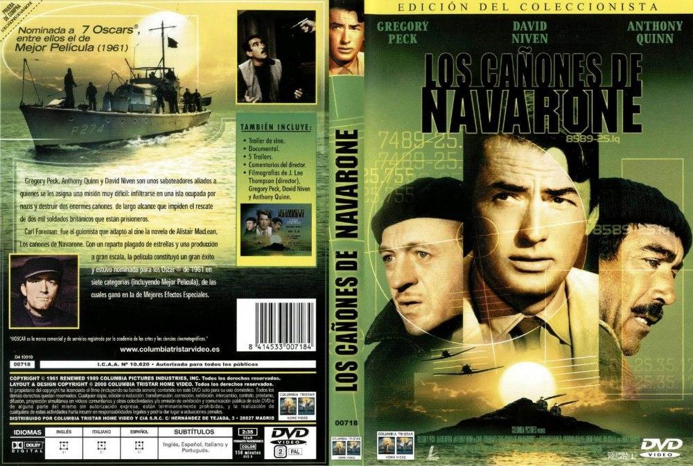 LOS CAÑONES DE NAVARONE (The guns of Navarone) – 1.961 (2/3)