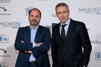 Ghislain Barrois y Álvaro Augustín, productores ejecutivos de 'Un monstruo viene a verme'