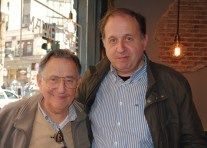Cruz Delgado y su hijo Cruz Delgado Sánchez