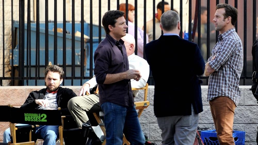 "Jason Sudeikis filming ""Horrible Bosses 2"""