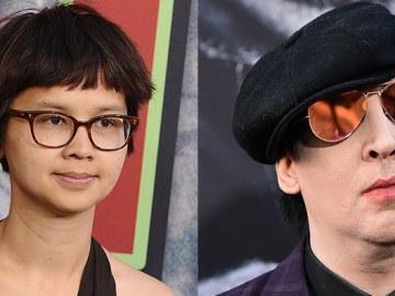 Charlyne Li and Marilyn Manson