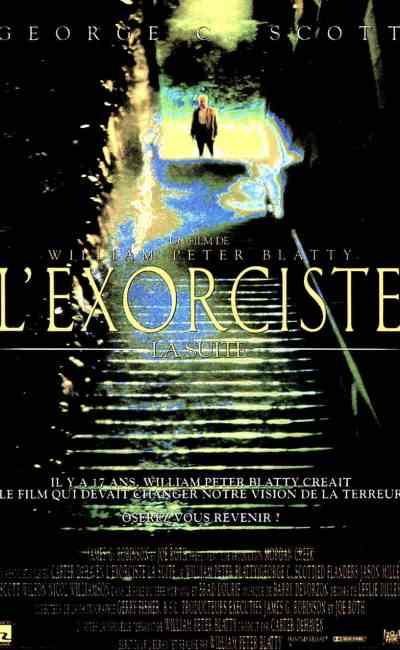 affiche de l'Exorciste 3 la suite