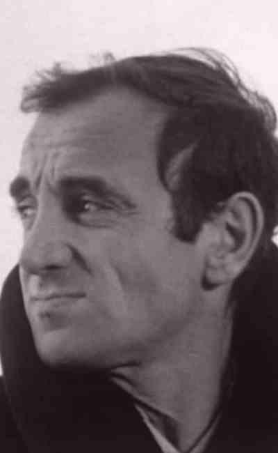 Charles Aznavour dans Le regard de Charles