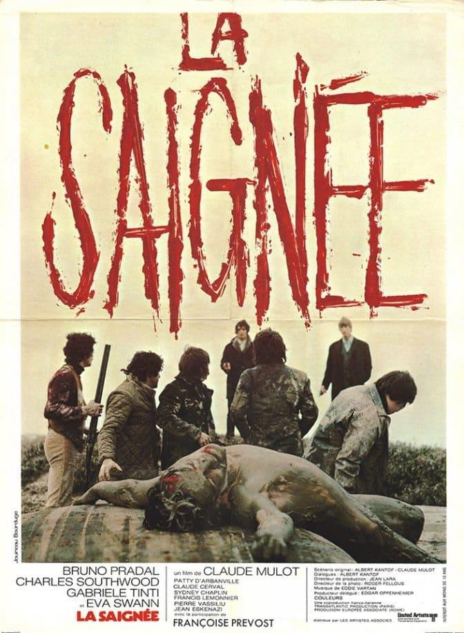 affiche originale du film La Saignée