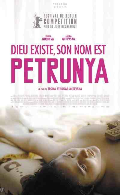 Dieu existe, son nom est Petrunya, l'affiche