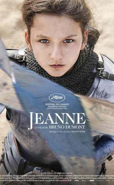 Affiche française du film de Bruno Dumont, Jeanne