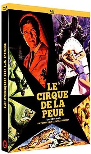 Le cirque de la peur, jaquette DVD