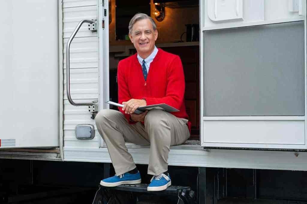 Tom Hanks dans L'extraordinaire Mr. Rogers