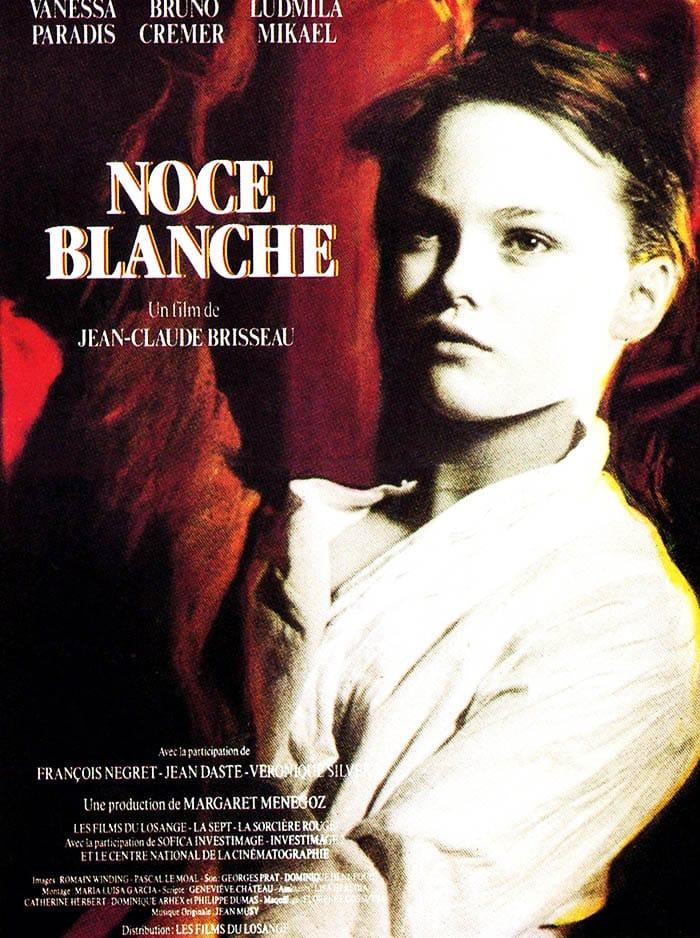 Affiche Noce Blanche avec Vanessa Paradis