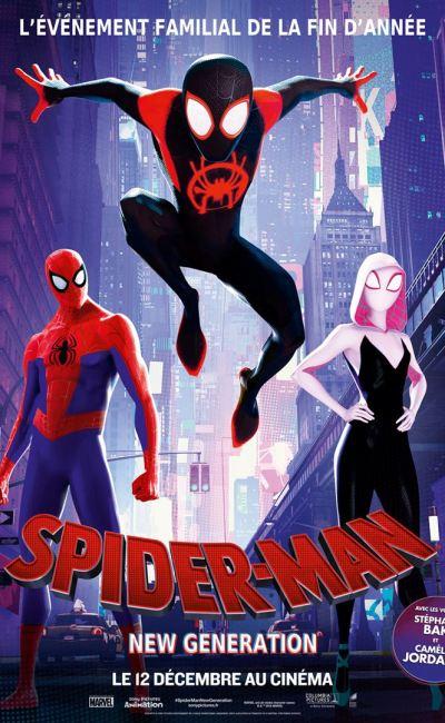 Spider-man new generation, affiche française