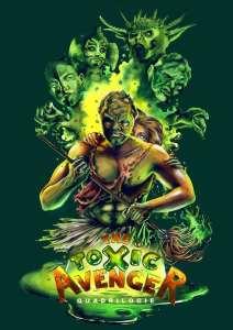 Toxic Avenger, la jaquette Bach Films