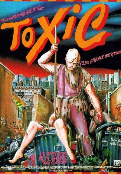 Toxic, l'affiche française