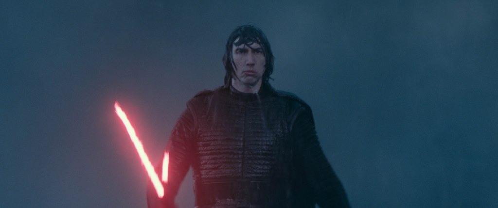Adam Driver est Kylo Rey dans Star Wars l'ascension de Skywalker