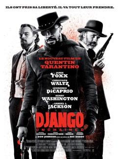 Affiche française de Django Unchained