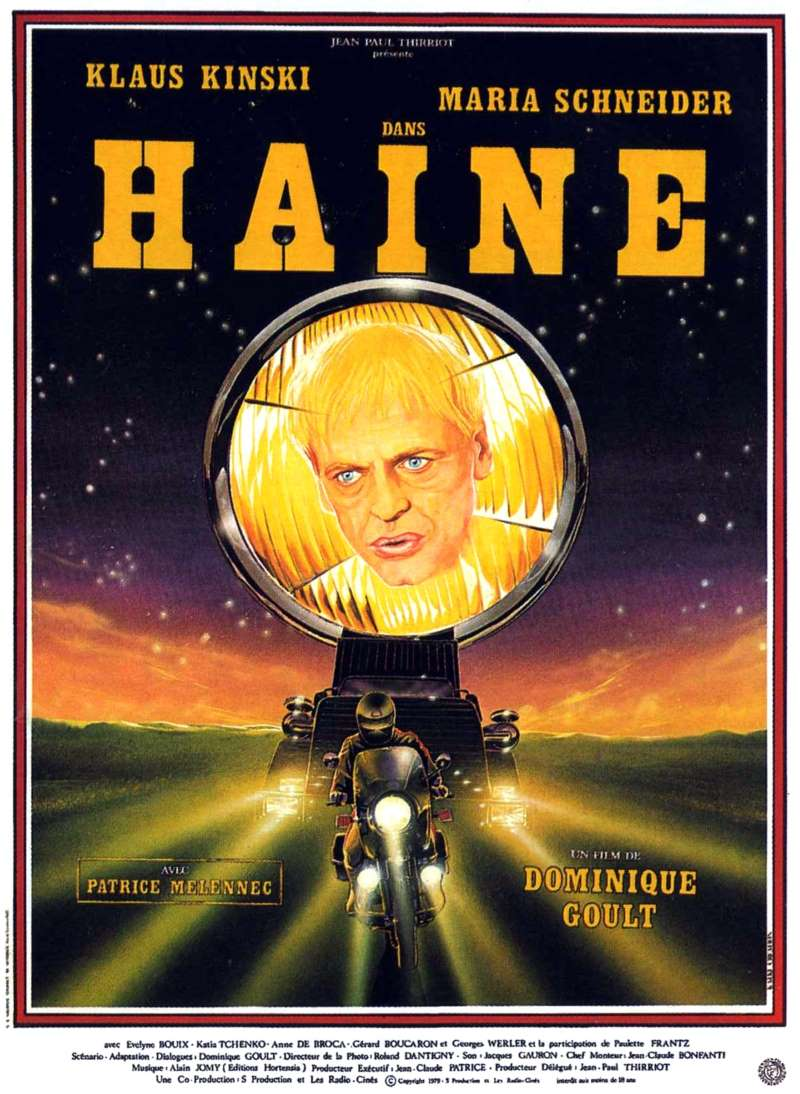 Haine, l'affiche du film