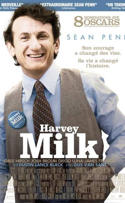 Affiche française de Harvey Milk de Gus Van Sant Milk