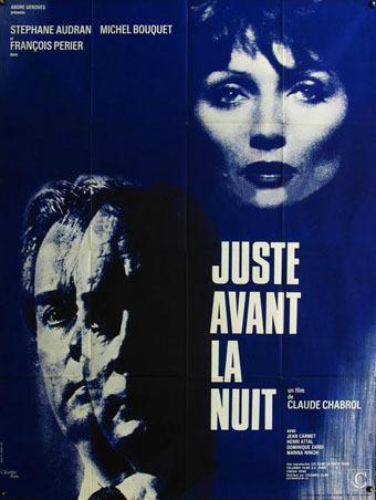 Affiche de Juste avant la nuit de Claude Chabrol