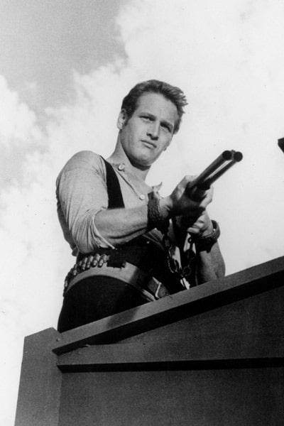 Paul Newman dans Le Gaucher d'Arthur Penn