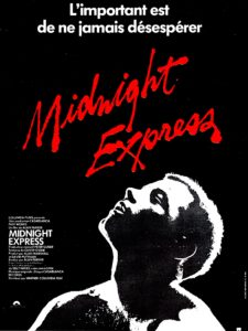 Midnight express, affiche du film d'Alan Parker