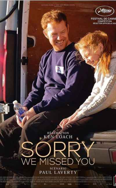 Sorry we missed you, l'affiche française du Ken Loach