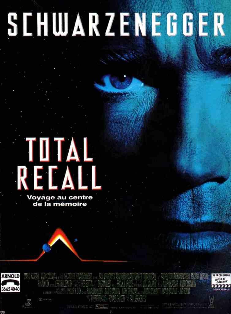 Affiche française de Total Recall