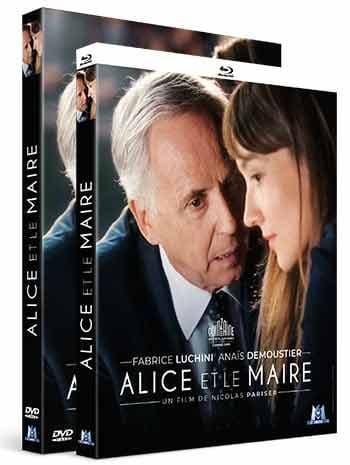 Alice et le Maire, sortie DVD et blu-ray