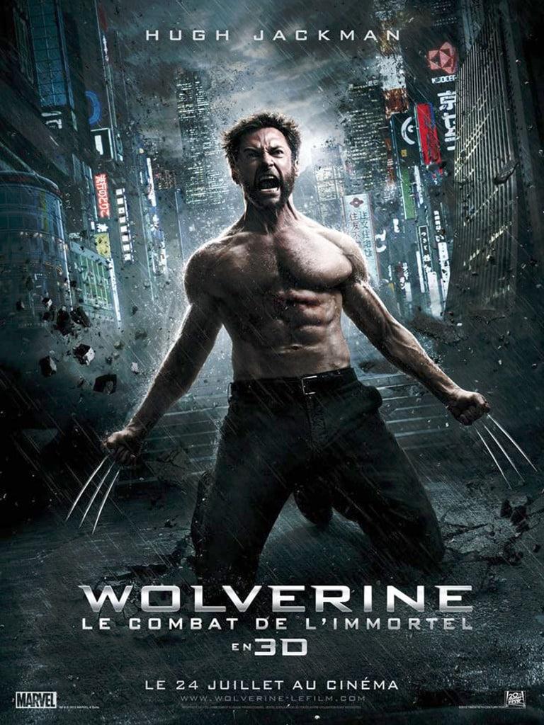 Wolverine le combat de l'immortel affiche cinéma France