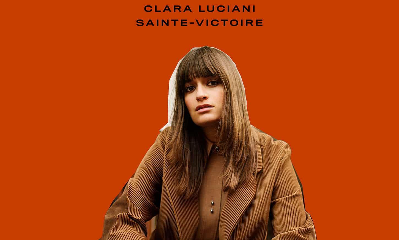 lara Luciani : pochette de Sainte Victoire, banner 2018