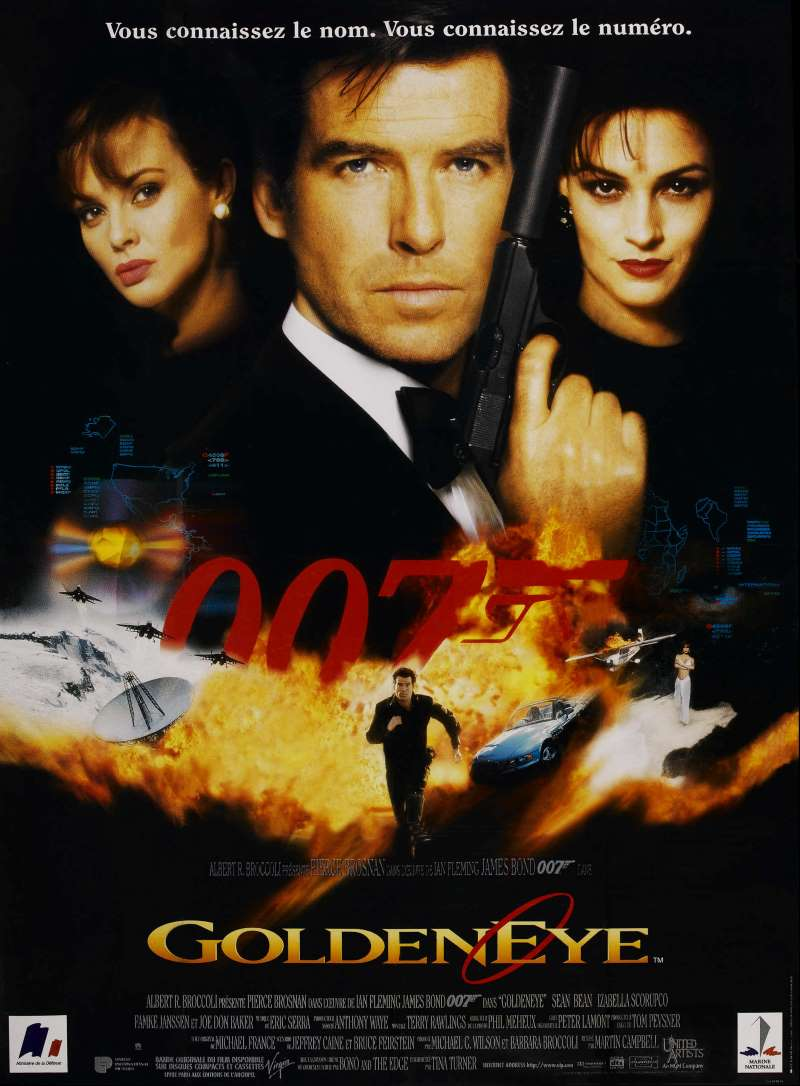 Goldeneye, l'affiche