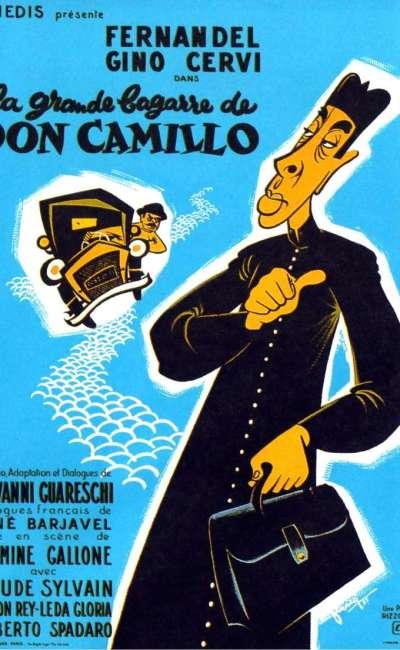 La grande bagarre de Don Camillo, l'affiche française