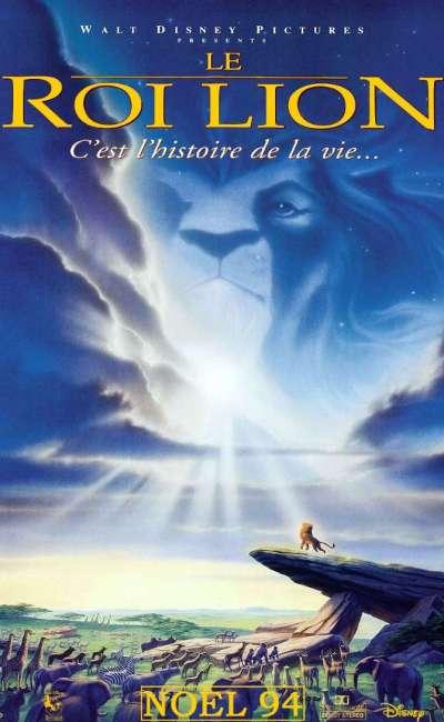 Le roi lion, l'affiche de 1994