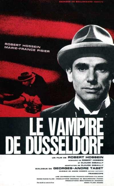 Le vampire de Düsseldorf, l'affiche