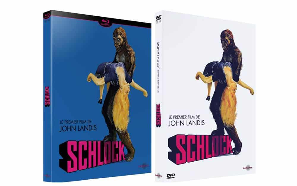DVD et blu-ray de Schlock