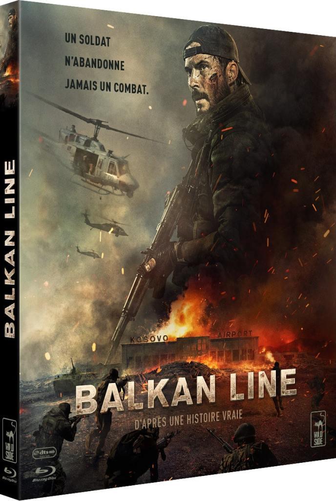 Jaquette du DVD Wild Side Balkan Line