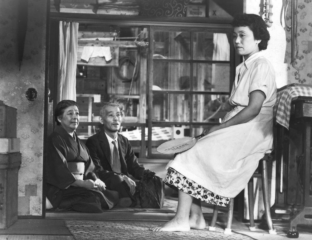 Chishû Ryû, Chieko Higashiyama Haruko Sugimura dans Voyage à Tokyo