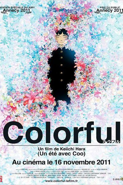 Colorful, affiche du film distribué par Eurozoom en 2011