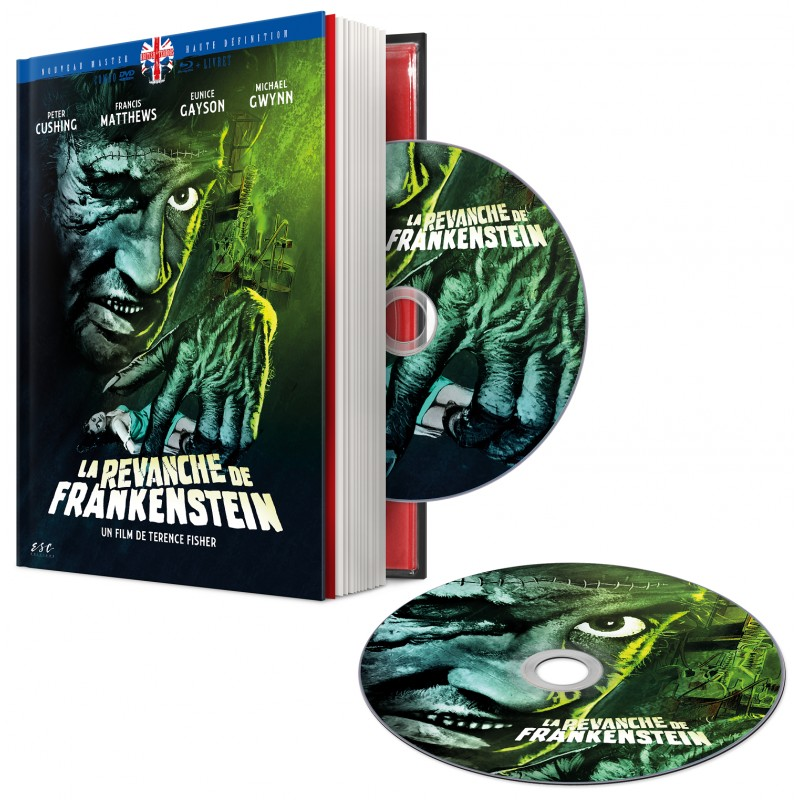 La revanche de Frankenstein, le mediabook