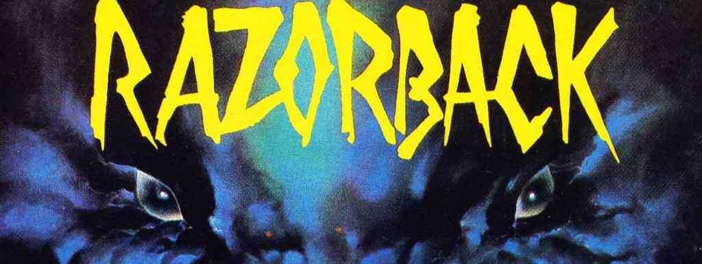 Affiche originale de Razorback
