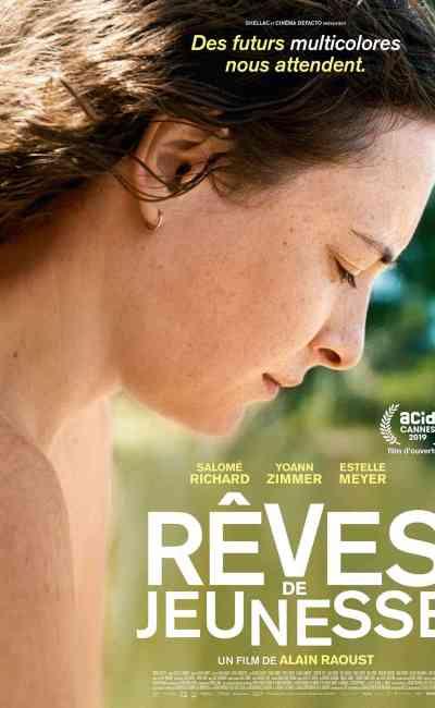 Rêves de jeunesse, affiche du film d'Alain Raoust