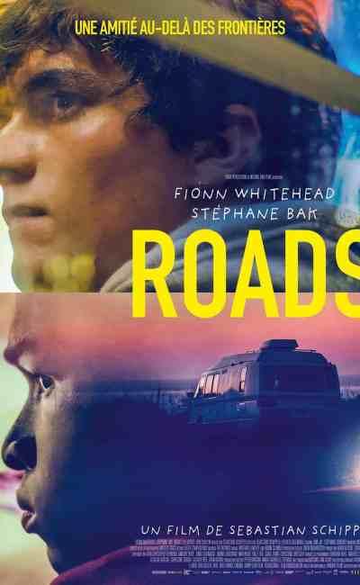 Affiche française du road movie allemand, Roads
