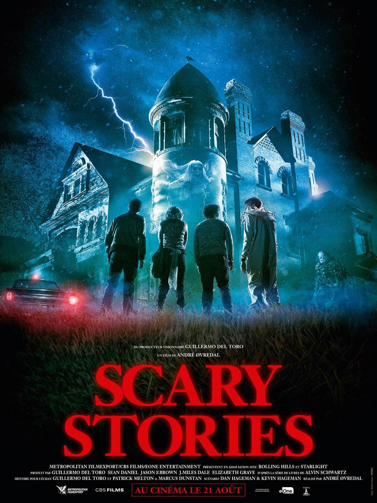 Scary Stories, affiche française définitive