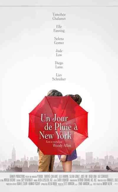 Un jour de pluie à New York, affiche du film