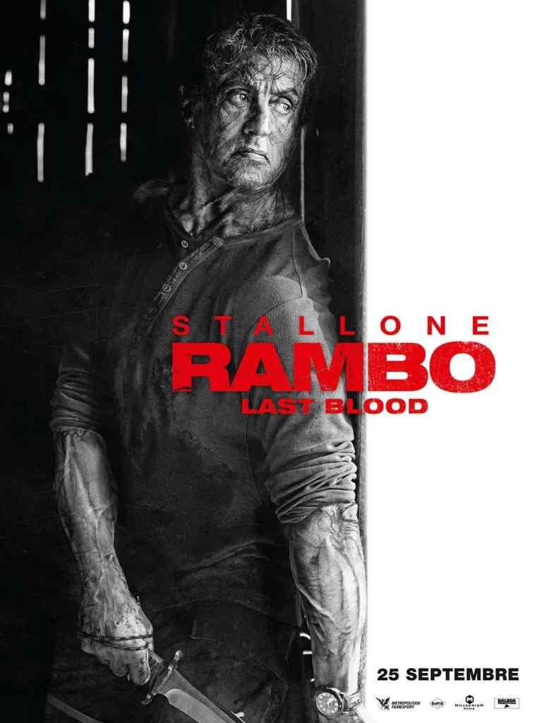 Rambo Last Blood, deuxième affiche, dans la grange