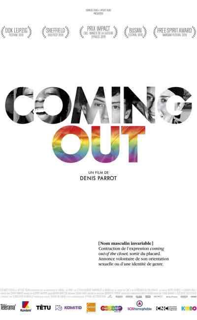 Affiche du film Coming out de Denis Parrot