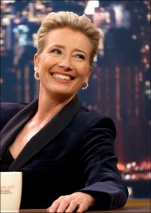 Portrait de Emma Thompson dans Late Night