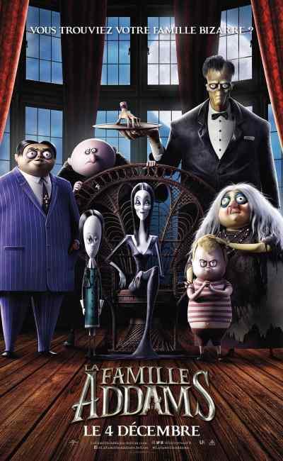 La Famille Addams affiche 1 de la version animée 2019