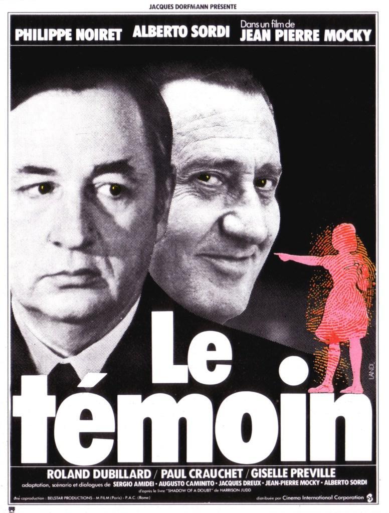 Le Témoin de Jean-Pierre Mocky, avec Philippe Noiret